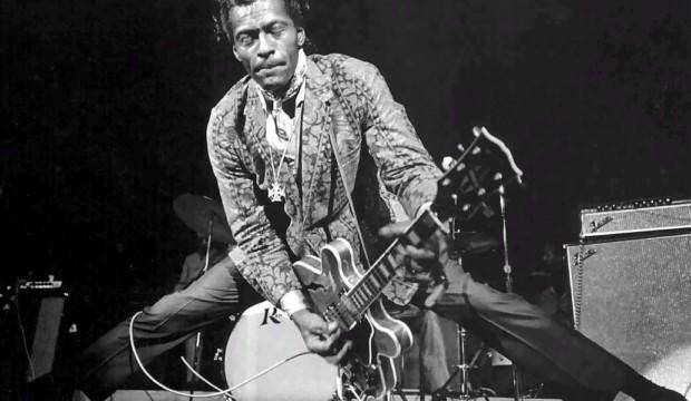 Chuck Berry e il suo Rock 'n' Roll.