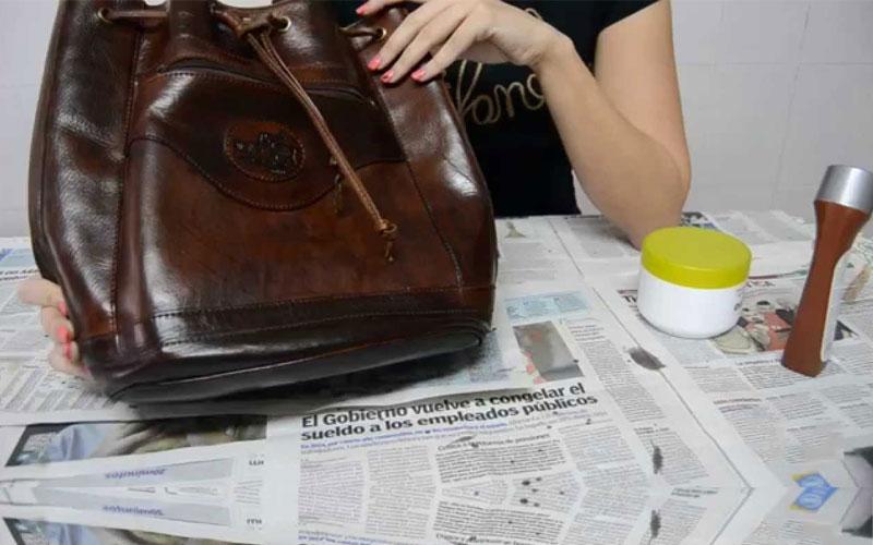 pulire le borse