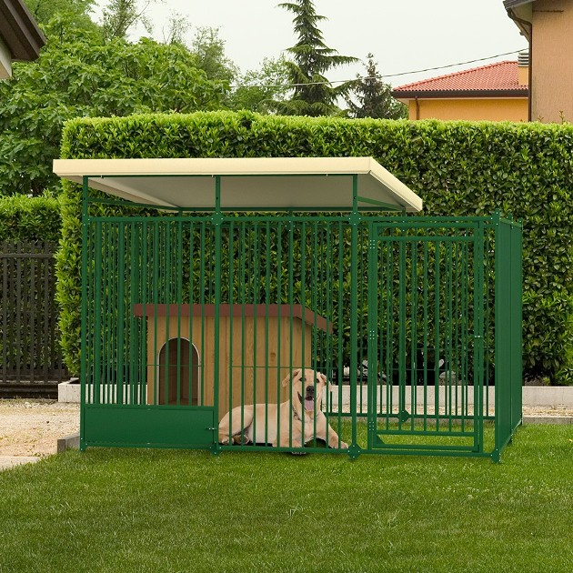 Come rendere confortevole la vita all 39 aperto del cane giornale di informazione online - Recinto mobile per cani ...