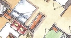 Planimetria  con arredamento: tutti i consigli per vendere più velocemente la tua casa