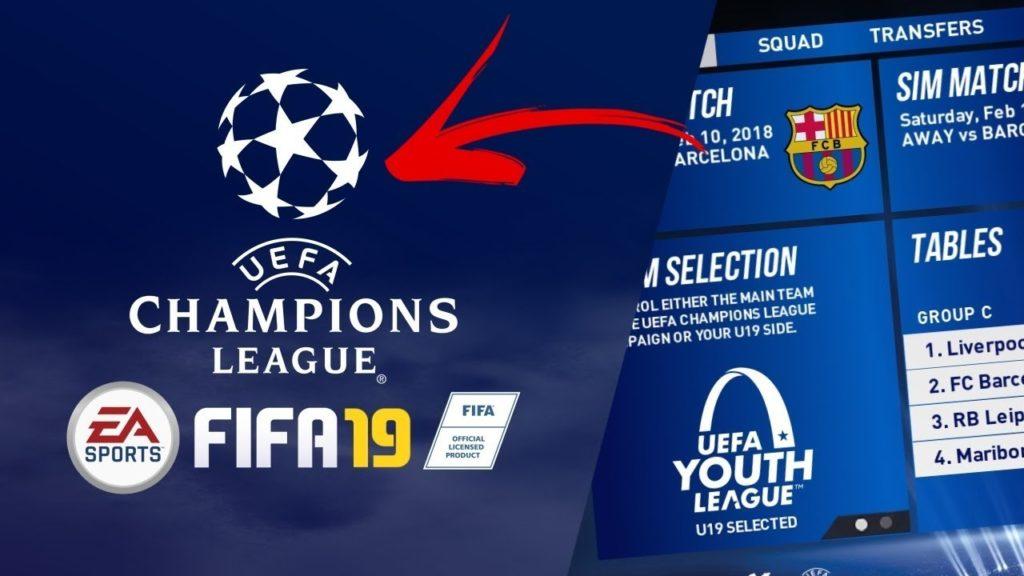 fifa 19 echampions league