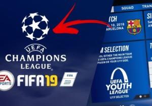Fifa 19 lancia l'eChampions League 2019